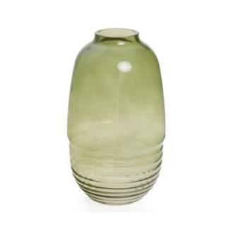 Medium Green Minster Glass Vase